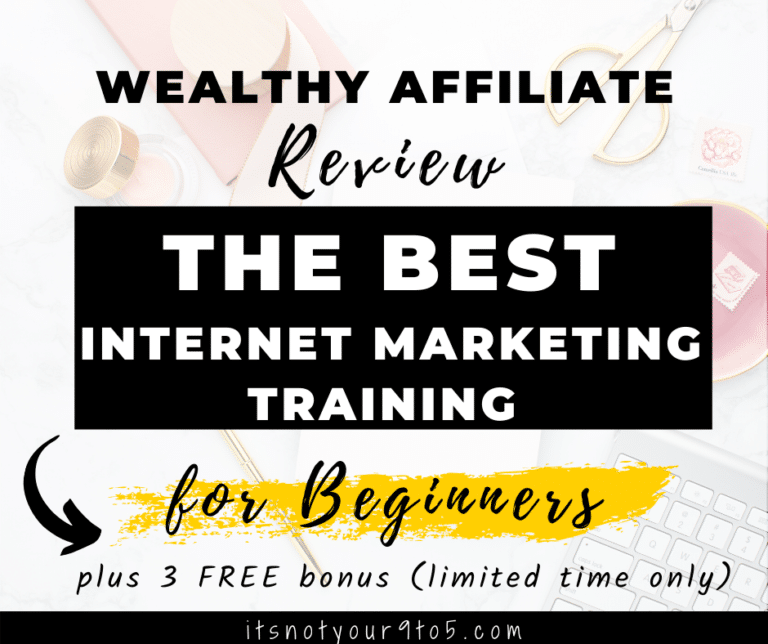 Internet marketing training for beginners - Wealthy Affiliate review