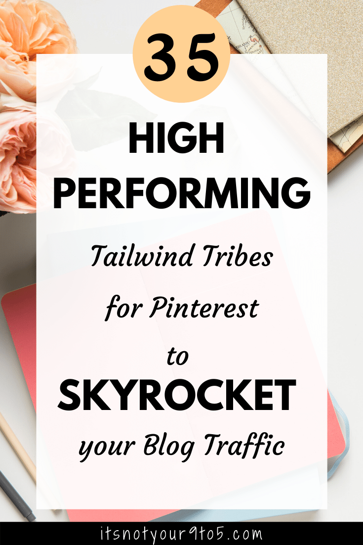 Tailwind tribes for Pinterest