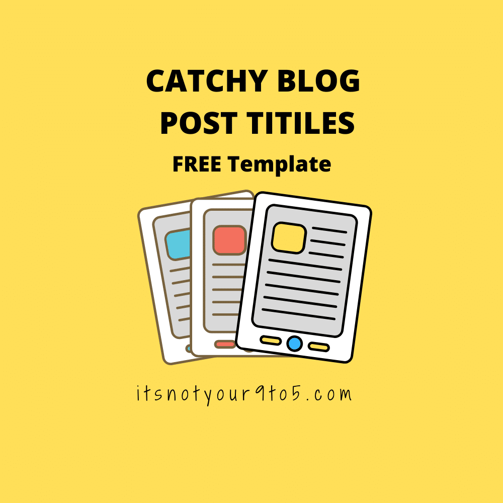 Catch blog post titles