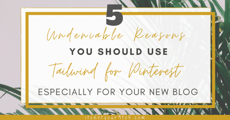 Use Tailwind for Pinterest