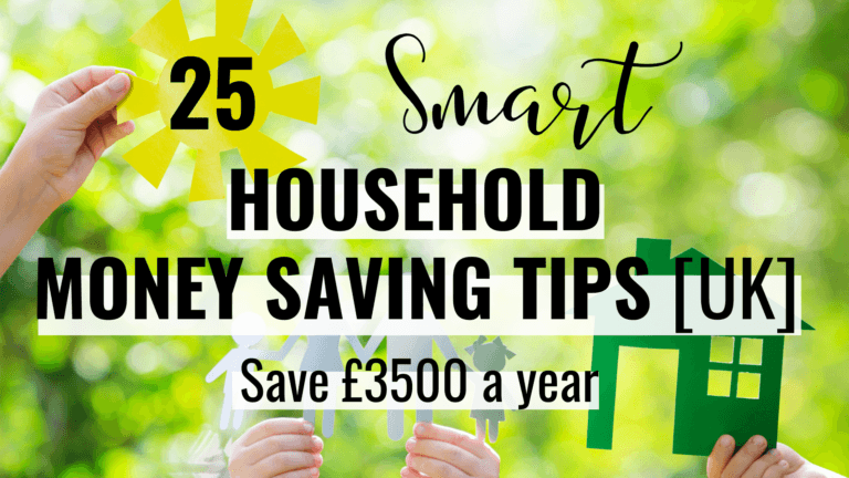 Money saving tips uk - ways to save money