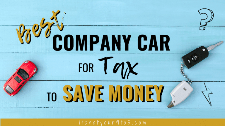 Best Company Car for Tax to save money