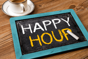 save money on happy hours