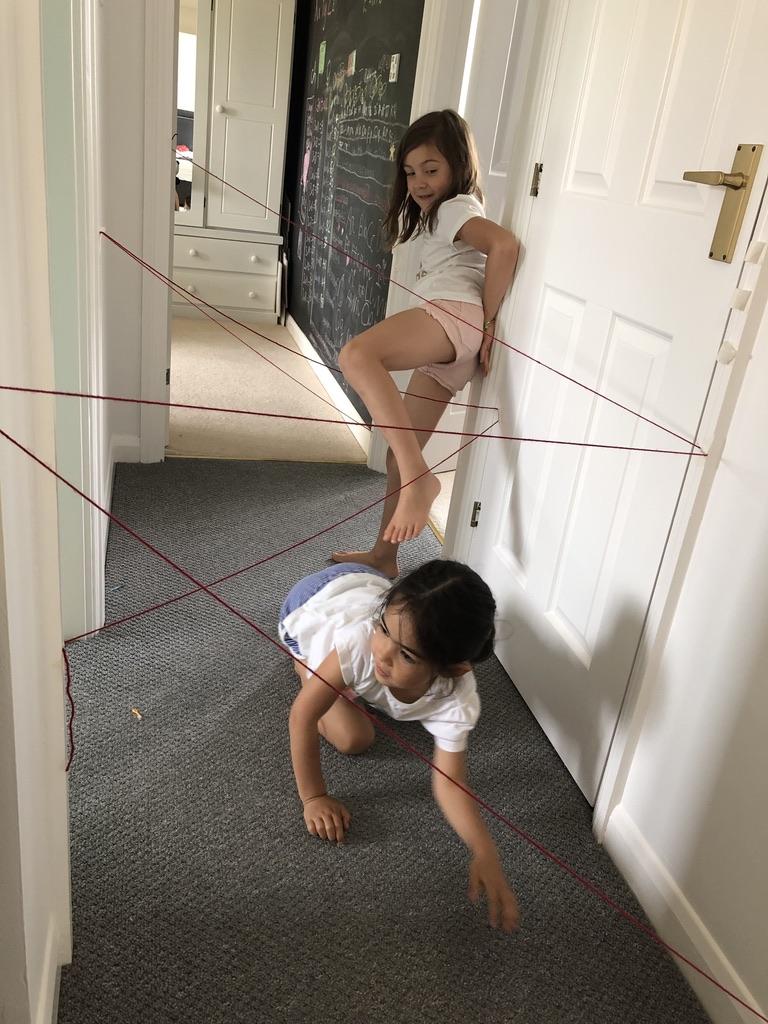 Free kids activities  - Laser Grid