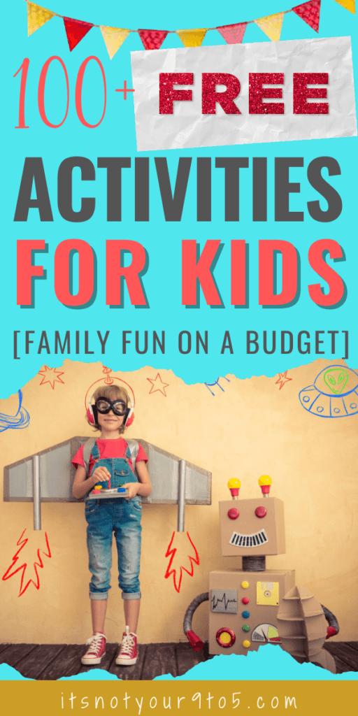 100+ Free activities for kids