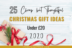 Cheap but thoughtful Christmas gift ideas under £20
