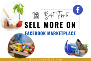 13 Best Tips to Sell More on Facebook Marketplace
