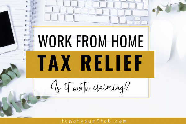 work from home tax relief UK
