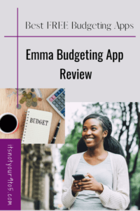 The best free budgeting apps - Emma budgeting app review