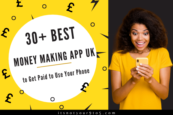 best money making apps uk - get paid to use your phone FB