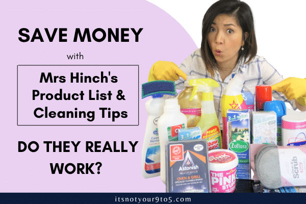 Save Money with Mrs Hinch's Product List & Cleaning Tips – Do they really work?