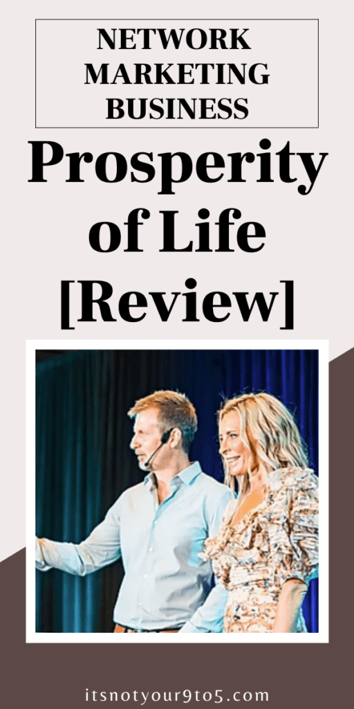 prosperity of life reviews
