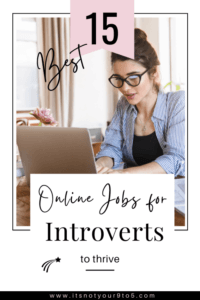 15 best online jobs for introverts