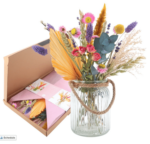 Top Ten Mother's day gift ideas dried flowers