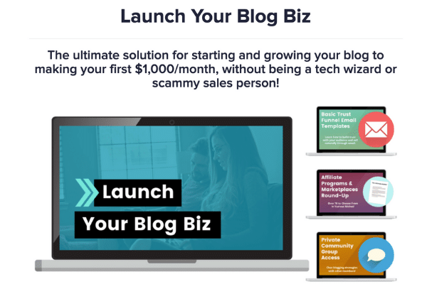 Is create and go legit? Launch Your Blog Biz Review
