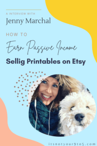Earn passive income selling printables on Etsy