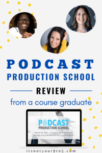 Podcast production school course review