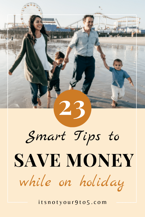 saving money while on vacation